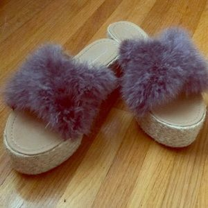 Shoes - Feather slides